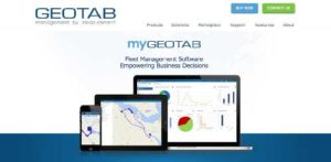 Geotab (Geo-tracking fleet management.)
