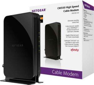 NETGEAR CM500-100NAR DOCSIS 3.0 Cable Modem