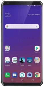 LG V35 ThinQ with Alexa Hands-Free Unlocked – 64 GB – Aurora Black