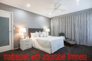mattresses with adjustable firmness