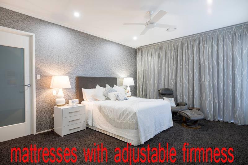 mattresses with adjustable firmness