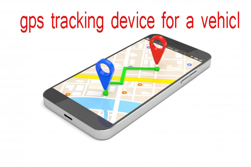 gps tracking device for a vehicle