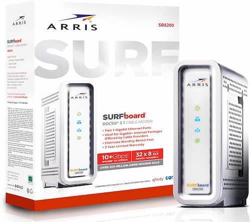 Arris Surfboard SB8200 Frustration-Free