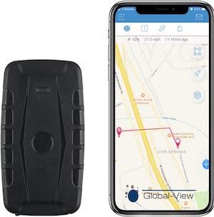 Global View (Hidden Magnetic GPS Tracker Car)