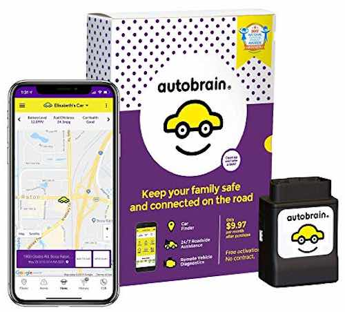 Autobrain OBD Real-Time GPS Personal Vehicle Tracking