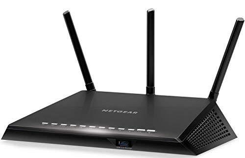 NETGEAR Nighthawk Smart WiFi Router (R6700) - AC1750