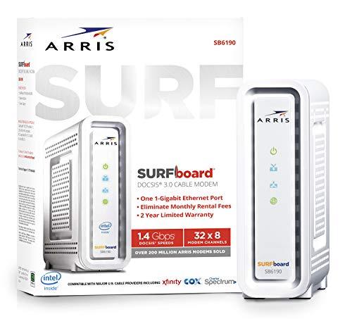 ARRIS SURFboard SB6141 DOCSIS 3.0 Cable Xfinity Modem Compatibility