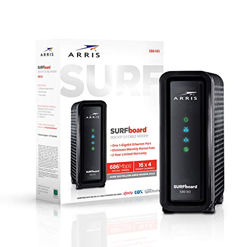 ARRIS SURFboard SB6183 DOCSIS 3.0 Xfinity Modem Compatibility