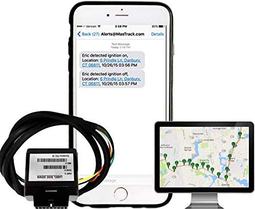 MasTrack Hardwired Real-Time GPS Vehicle Tracker