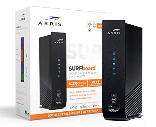 Arris Surfboard SBG7400AC2 DOCSIS 3.0 Cable Modem