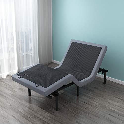 Leisuit Adjustable Bed Frame with Back & Foot Massage
