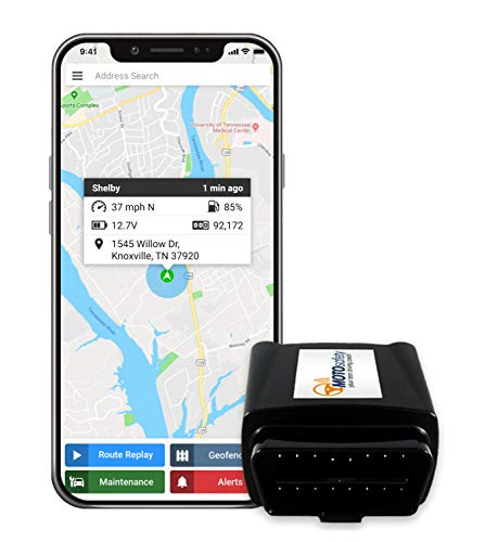 MOTO Safety 4G Real Update Time OBD GPS Car Tracking Devices