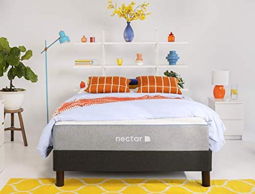 Nectar California King Mattress + 2 Pillows Included