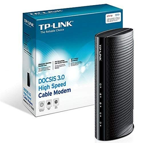 TP-Link DOCSIS 3.0 (16x4) High-Speed Cable Modem, Max Download Speeds of 686Mbps