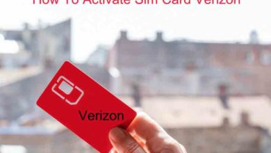 How To Activate Sim Card Verizon